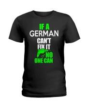 GERMAN FUNNY  Ladies T-Shirt thumbnail