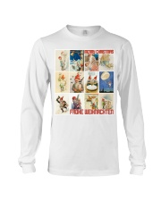 GERMAN MERRY CHRISTMAS Long Sleeve Tee thumbnail