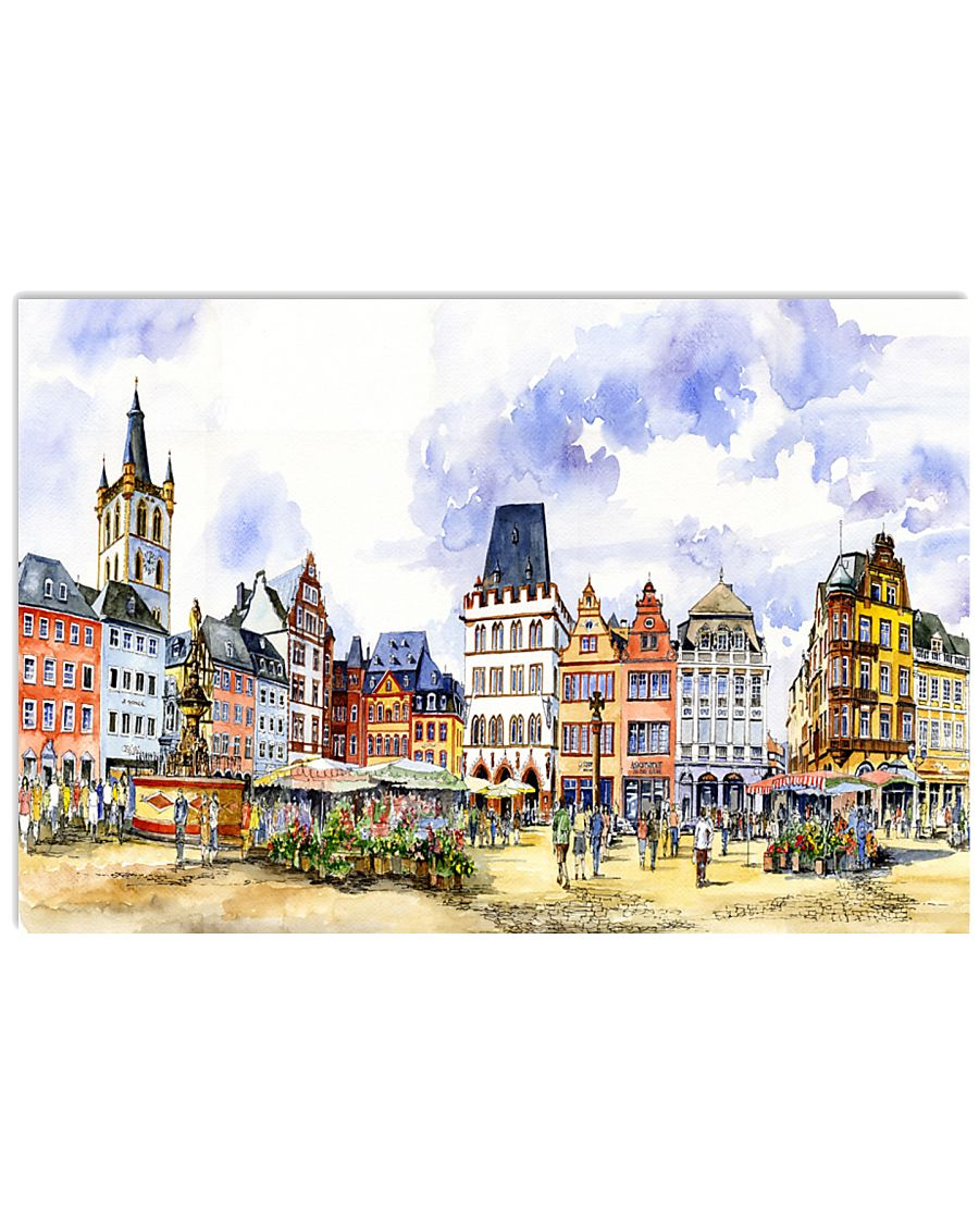 GERMANY VINTAGE TRAVEL POSTER 17x11 Poster