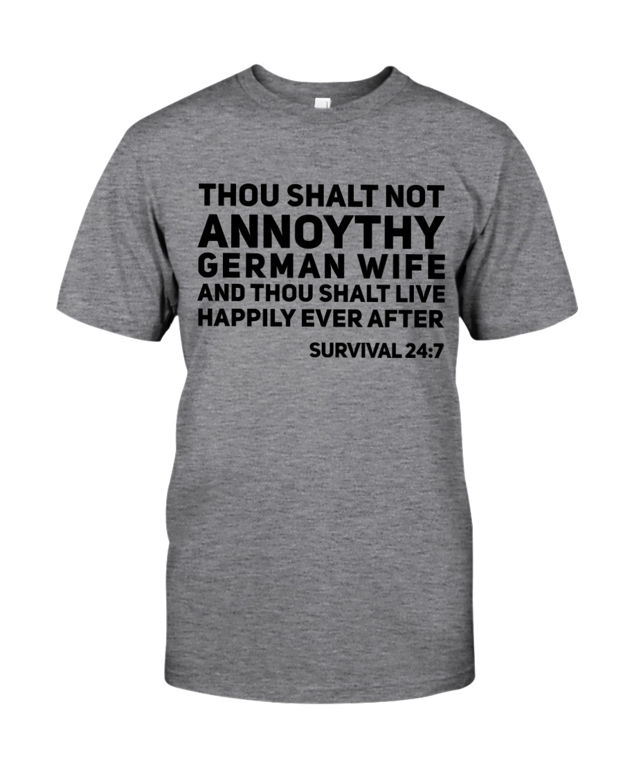 GERMAN WIFE Classic T-Shirt