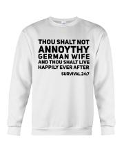 GERMAN WIFE Crewneck Sweatshirt thumbnail