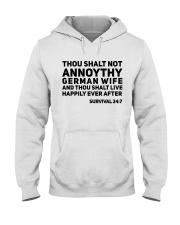 GERMAN WIFE Hooded Sweatshirt thumbnail
