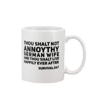 GERMAN WIFE Mug thumbnail