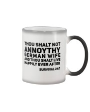 GERMAN WIFE Color Changing Mug thumbnail