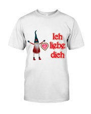 GERMAN I LOVE YOU Classic T-Shirt front