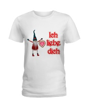 GERMAN I LOVE YOU Ladies T-Shirt thumbnail