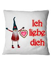 GERMAN I LOVE YOU Square Pillowcase thumbnail