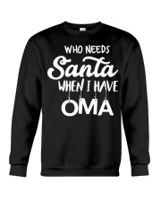 GERMAN CHRISTMAS SWEATER PATTERN FUNNY Crewneck Sweatshirt thumbnail