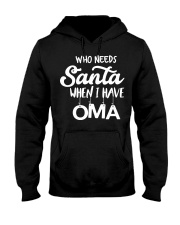 GERMAN CHRISTMAS SWEATER PATTERN FUNNY Hooded Sweatshirt thumbnail