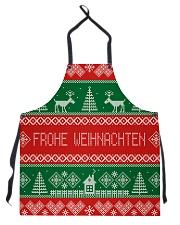 FROHE WEIHNACHTEN GERMAN CHRISTMAS Apron thumbnail