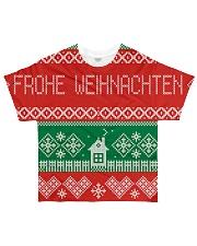 FROHE WEIHNACHTEN GERMAN CHRISTMAS All-over T-Shirt thumbnail