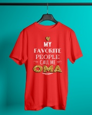 MY FAVORITE PEOPLE CALL ME OMA Classic T-Shirt lifestyle-mens-crewneck-front-3