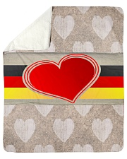 """GERMANY LOVE Sherpa Fleece Blanket - 50"""" x 60"""" thumbnail"""