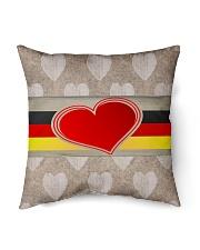 "GERMANY LOVE Indoor Pillow - 16"" x 16"" front"