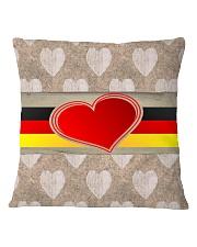 GERMANY LOVE Square Pillowcase thumbnail
