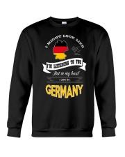 I AM IN GERMANY Crewneck Sweatshirt thumbnail