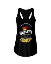 I AM IN GERMANY Ladies Flowy Tank thumbnail