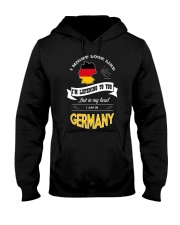 I AM IN GERMANY Hooded Sweatshirt thumbnail
