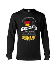 I AM IN GERMANY Long Sleeve Tee tile