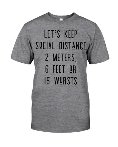 LET'S KEEP SOCIAL DISTANCE 2 METERS 6 FEET OR 15