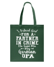 OPA FUNNY PARTNER IN CRIME Tote Bag thumbnail