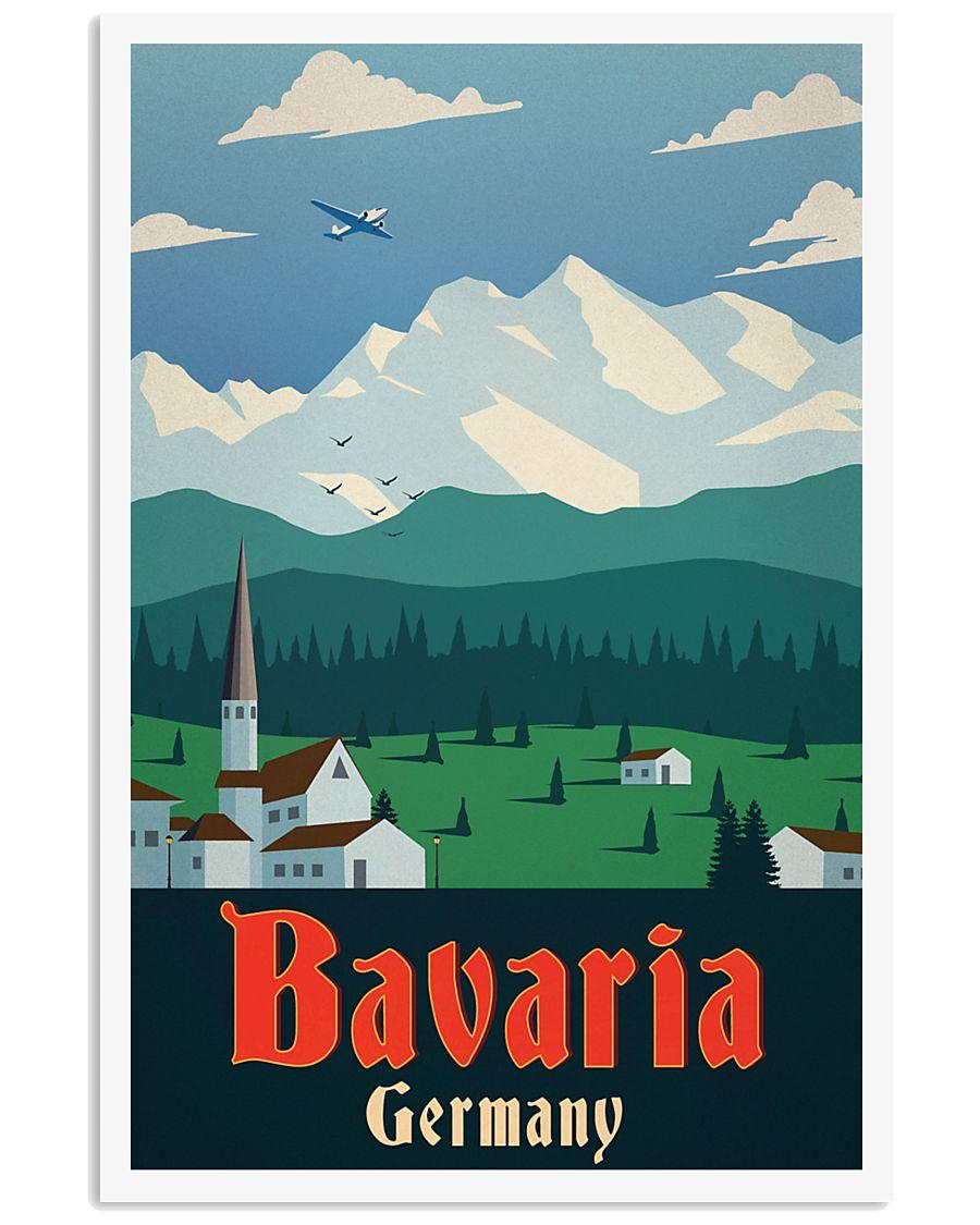 GERMANY BAVARIA VINTAGE 11x17 Poster