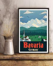 GERMANY BAVARIA VINTAGE 11x17 Poster lifestyle-poster-3
