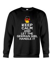 KEEP CALM GERMAN GIRL Crewneck Sweatshirt thumbnail