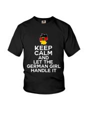 KEEP CALM GERMAN GIRL Youth T-Shirt thumbnail