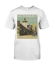 GERMAN VINTAGE POSTER Classic T-Shirt thumbnail