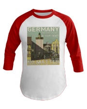 GERMAN VINTAGE POSTER Baseball Tee thumbnail