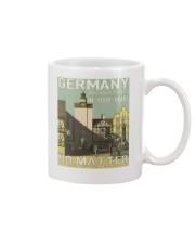 GERMAN VINTAGE POSTER Mug thumbnail