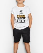 AIN'T NO OMA LIKE THE ONE I GOT Youth T-Shirt lifestyle-youth-tshirt-front-1