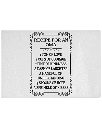 RECIPE FOR AN OMA