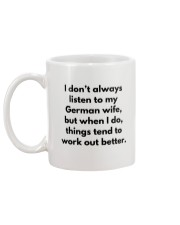 GERMAN WIFE BETTER Mug back