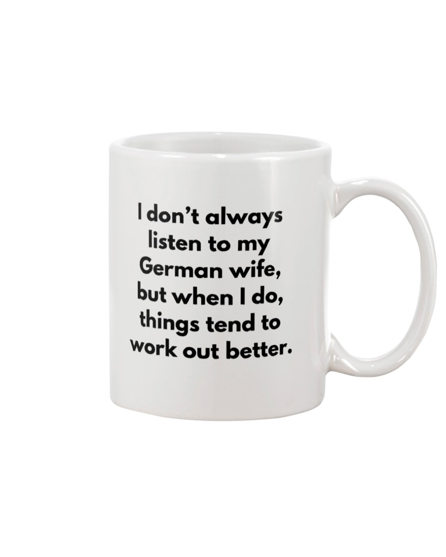 GERMAN WIFE BETTER Mug