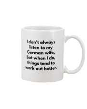 GERMAN WIFE BETTER Mug thumbnail
