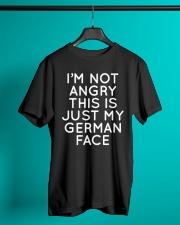 GERMAN FACE FUNNY Classic T-Shirt lifestyle-mens-crewneck-front-3