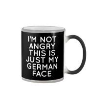 GERMAN FACE FUNNY Color Changing Mug thumbnail