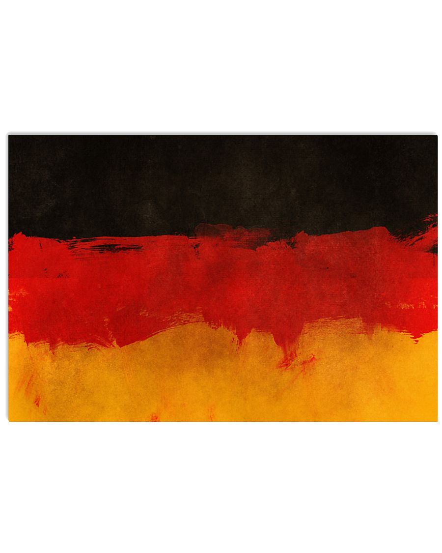 GERMANY FLAG POSTER 17x11 Poster