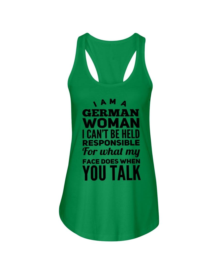 GERMAN WOMAN Ladies Flowy Tank