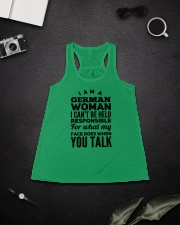 GERMAN WOMAN Ladies Flowy Tank lifestyle-bellaflowy-tank-front-4