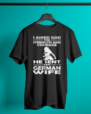 GERMAN WIFE Classic T-Shirt lifestyle-mens-crewneck-front-3
