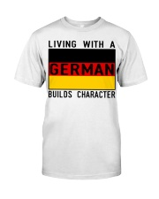 LIVING WITH A GERMAN Premium Fit Mens Tee thumbnail