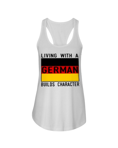 LIVING WITH A GERMAN