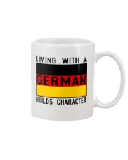 LIVING WITH A GERMAN Mug thumbnail