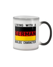 LIVING WITH A GERMAN Color Changing Mug thumbnail