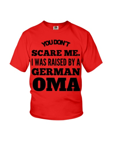 I WAS RAISED BY A GERMAN OMA