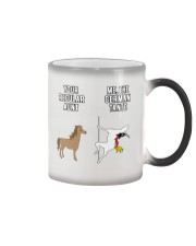 YOUR REGULAR AUNT ME THE GERMAN TANTE Color Changing Mug thumbnail
