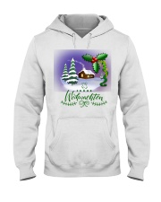 GERMAN MERRY CHRISTMAS  Hooded Sweatshirt tile